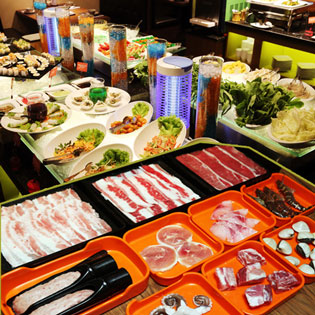 Hot Deal - Buffet Lau Thai, Nhat, Han Tai He Thong Hotpot Story (Thaisiam Hotphot)