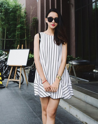 Hot Deal - Dam Peplum Ke Soc Thanh Lich