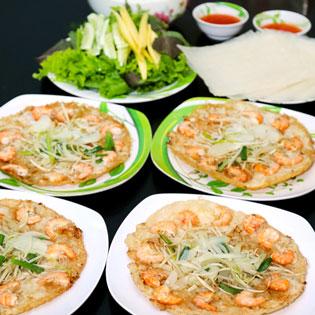 Hot Deal - 4 Banh Xeo Tom Nhay – Quan An Quy Nhon