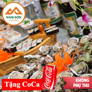 Hot Deal - Buffet Nam Son - Uong Thoa Thich - An Tha Ga