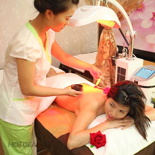 Tắm Trắng Collagen C Kết Hợp Ánh Sáng Tím Sinh Học Tại Thảo Mộc Spa