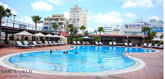 Hot Deal - Trai Nghiem Ho Boi Dang Cap Sang Trong Bac Nhat Sai Gon Tai New World Saigon Hotel