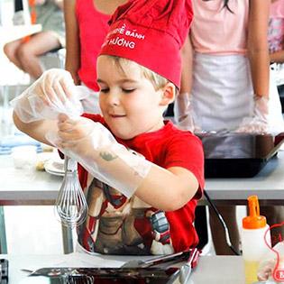 Hot Deal - Baking 4 Kid - KH Banh Au + Banh Trung Thu + Tart Trung - TT Nhat Huong