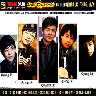 Hot Deal - Tieng Xua Cabaret (OV Club- Equatorial Hotel) - Tinh Khuc Vuot Thoi Gian + 1 Phan Nuoc