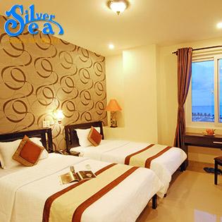 Hot Deal - Da Nang - 3N2D Tai Silver Sea Hotel 3* + Xe May Tham Quan 2 Ngay - Danh Cho 2 Nguoi