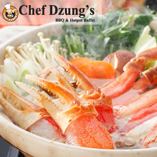 Hot Deal - Buffet Lau & Nuong Khong Khoi Nha Hang Chef Dzung's