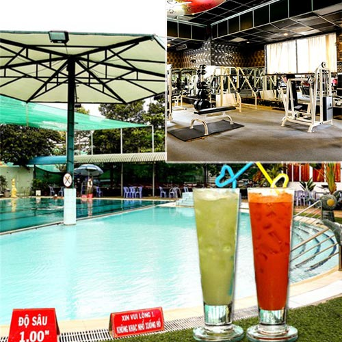 Hot Deal - Combo 1 Ve Boi + Tap Gym + Nuoc Tu Chon Cho 1 Nguoi Tai Ho Boi Ky Hoa 2