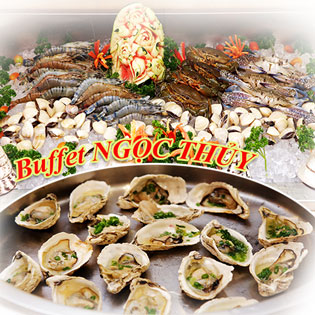 Hot Deal - Buffet Toi Hai San Gala Ngoc Thuy - Them 1 Ly Bia Duc