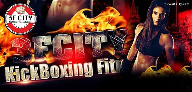 Hot Deal - Trai Nghiem Kick Boxing Fitness Chuyen Nghiep Tai 3F CITY