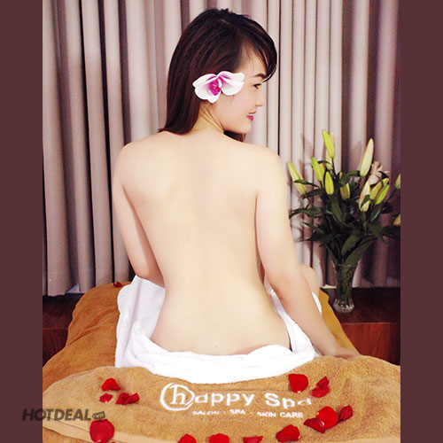 1 Trong 3 Gói Tắm Dưỡng Từ Thiên Nhiên Tại Happy Spa & Salon