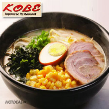 Hot Deal - Trai Nghiem Mi Ramen Noi Tieng Tai Kobe Restaurant
