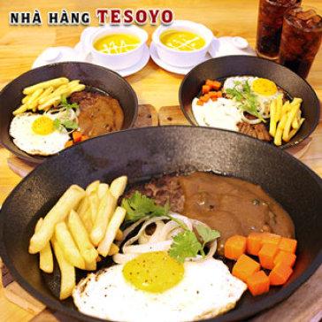 Hot Deal - Combo Beefsteak Bo Uc Danh Cho 02 Nguoi Tai Nha Hang Tesoyo