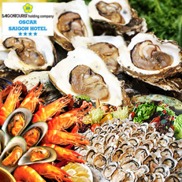 Hot Deal - Buffet Trua Hai San Tai Oscar Saigon Hotel 4*
