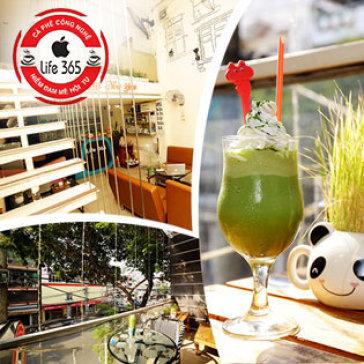 Hot Deal - Toan Menu Nuoc Uong Tai Cafe Life 365