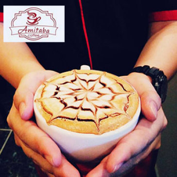 Hot Deal - Thuong Thuc Cafe Dam Phong Cach Y Tai Amitaba Coffee