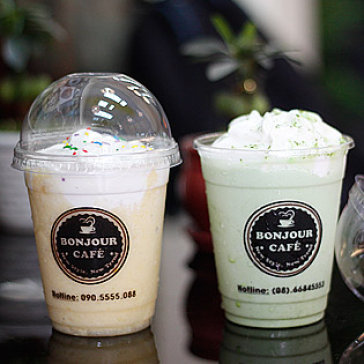 Hot Deal - Thuong Thuc Cafe Theo Phong Cach Y Tai Cafe Take Away Bonjour