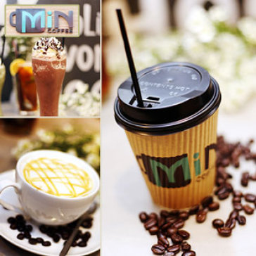 Hot Deal - Cafe Phong Cach Y Nguyen Lieu Tu Nhien - Min Coffee (Free Parking/ Wifi/ Air Conditioner)