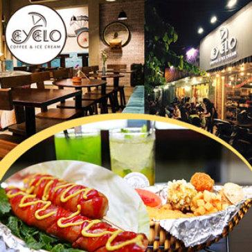 Hot Deal - Combo An Vat Sieu Ngon & Dang Cap Tai Cyclo Coffee And Ice-Cream