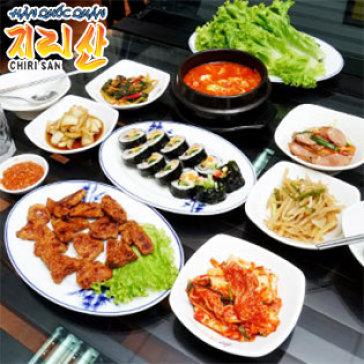 Hot Deal - 01 Trong 02 Set An Han Quoc Chinh Hieu Tu Chon Tai Nha Hang Chi Ri San