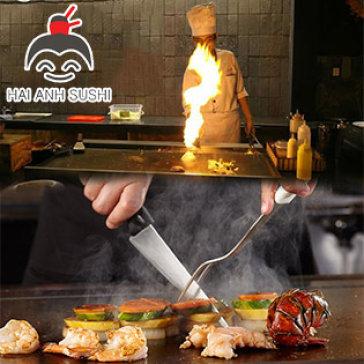 Hot Deal - 1 Trong 3 Set Teppanyaki Nhat Ban Tai Hai Anh Sushi