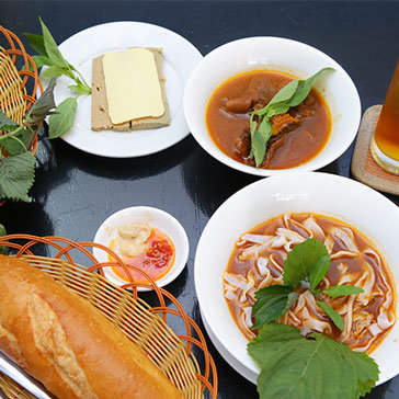 Hot Deal - Combo 01 Phan Hu Tieu De + 01 Phan Pate + 02 Ly Tra Da – Cari Ni