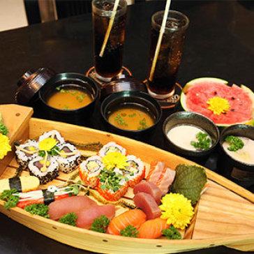Hot Deal - Set Menu Dung Chat Nhat Ban Danh Cho 02 Nguoi Tai Ngoc Sushi