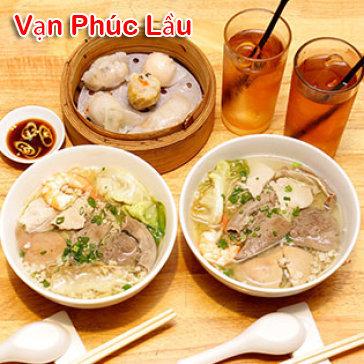 Hot Deal - Combo 02 Mi Thap Cam + 01 Dimsum Tai Van Phuc Lau