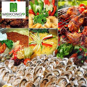Hot Deal - Buffet Sushi, BBQ Hai San Tuoi Song Cao Cap - Nuong Tren Than Da Nhan Tao Khong Khoi