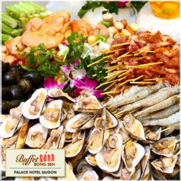 Hot Deal - Buffet Ganh Bong Sen Buoi Trua Tai Khach San Palace Saigon 4*