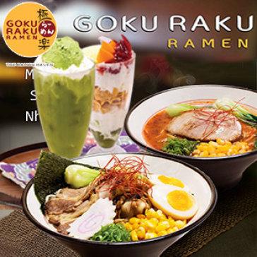 Hot Deal - Goku Raku Ramen - Dang Cap Ramen Ngon So 1 Nhat Ban, Ap Dung Ca Sashimi, Khong Gioi Han Voucher/Bill