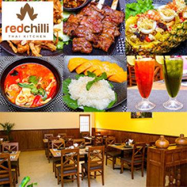 Hot Deal - NH Red Chilli Thai Kitchen - Khong Gioi Han Voucher/Bill