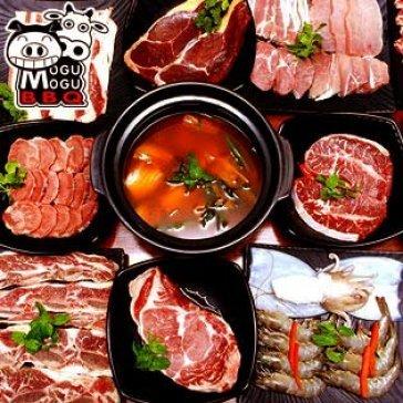 Hot Deal - Buffet Toi Tren 80 Mon Nuong & Lau Nhat Han, Free Nuoc,Trang Mieng, Mon An Kem – Mogu Mogu BBQ