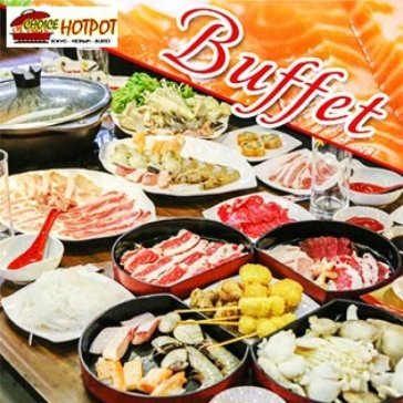 Hot Deal - Buffet Toi Lau Nhat, Hai San & Bo My, Free Buffet Kem, Pepsi, Trang Mieng, Mon An Kem – Choice Hotpot