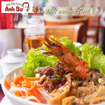 Hot Deal - Bun Thit Nuong Anh Ba - Tong Hoa Don Mon An