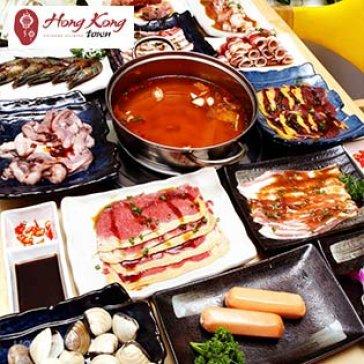 Hot Deal - Buffet Trua Lau, Hai San & Bo My, Free Nuoc Ngot – Hongkong Town SC Vivo City