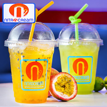 Hot Deal - Thuong Thuc Nuoc Uong Co Gas Va Sinh To Mua He Tai Nitro Cream - Pearl Plaza