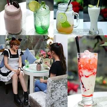 Hot Deal - Thuong Thuc Toan Menu Nuoc Uong Tai Cafe Nsn Acoustic