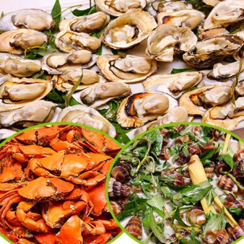 Buffet Trưa 40 Món Hải Sản - Nhà Hàng Tân Hoa Cau