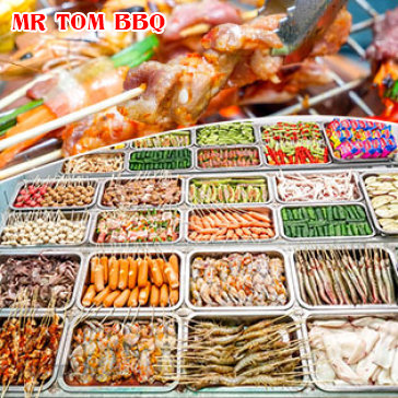 Hot Deal - Thoa Suc Thuong Thuc Nuong BBQ Va Lau Mr Tom