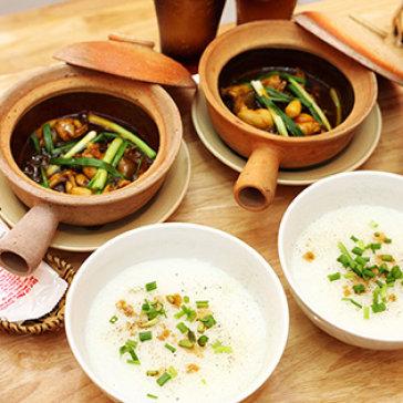 Hot Deal - Combo Chao Ech Cho 2 Nguoi - Giao Hang Mien Phi Tai He Thong Chao Ech Cay Cay