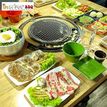 Hot Deal - Set Lau Nuong Han Quoc Cho 02 Nguoi + Free Mon An Kem,Tra Que - K'pop BBQ