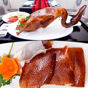 Hot Deal - Set Vit Quay Bac Kinh Danh Cho 4-5 Nguoi Tai Nha Hang Little Hong Kong