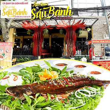 Hot Deal - Ca Quay Da Gion Kieu My Danh Cho 4-6 Nguoi Duy Nhat Tai Nha Hang Sau Banh