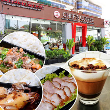 Hot Deal - Chef's Coffee - Toan Menu Thuc An Va Thuc Uong