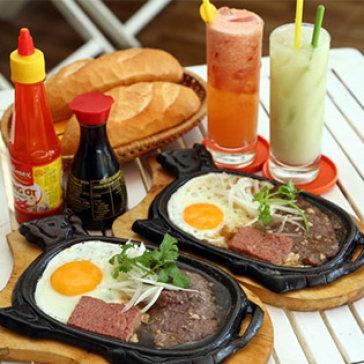 Hot Deal - Combo 2 Phan Bit Tet Thap Cam Bo Uc + 2 Nuoc Ep Tai Bit Tet Ho Nam