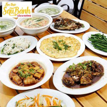 Hot Deal - 1 Trong 3 Set An Trua Danh Cho 4 Nguoi Tai Nha Hang Sau Banh