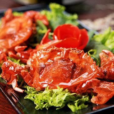 Hot Deal - 01 Con Cua Lot Che Bien Tuy Chon + Salad Tron/ Kim Chi – Giao Hang Tan Noi
