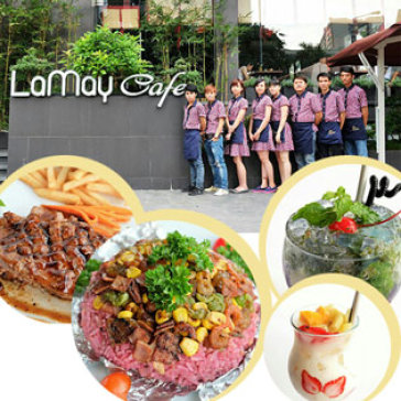 Hot Deal - Toan Menu Thuc An, Thuc Uong Tai LaMay Cafe