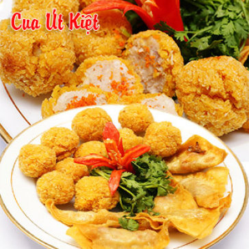 Hot Deal - Combo Hoanh Thanh Cua + Cua Vien Chien Gion Mien Phi Salad/ Kim Chi – Giao Hang Tan Noi - Vua Cua Ut Kiet