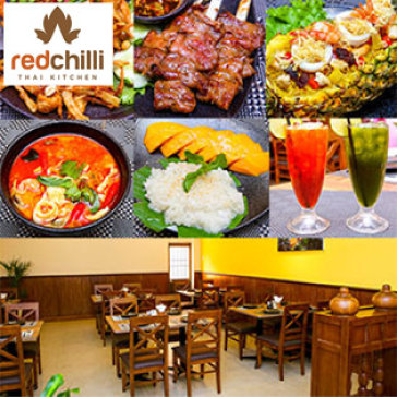 Hot Deal - NH Red Chilli Thai Kitchen - Khong Gioi Han Voucher/Bill